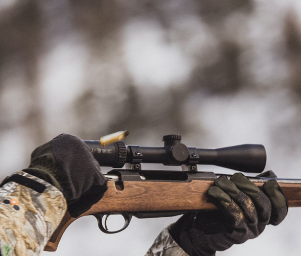 Tikka Rifle special features - Redesigned ejection port