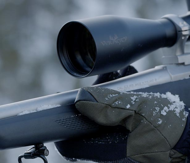 Tikka Rifle special features - Improved grip