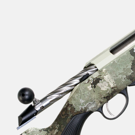 Tikka Rifle special features - FLUTED BOLT WITH OVERSIZED KNOB