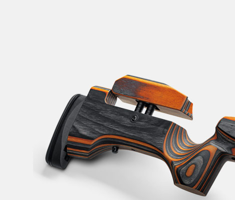 Tikka Rifle special features - ADJUSTABLE CHEEKPIECE AND RECOIL PAD